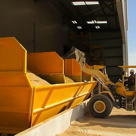 Wiggert táskás silós betonüzem rendszer