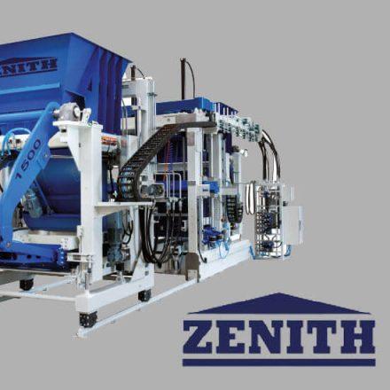 Zenith 1500 térkő, betonelem gyártó gép