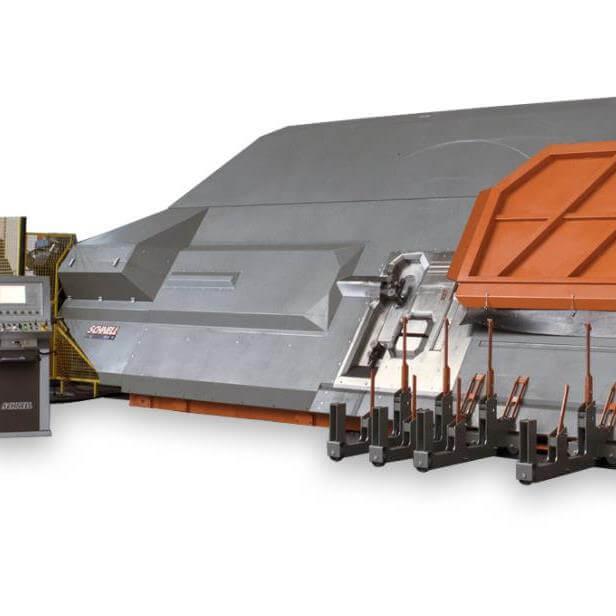 Schnell automata betonvas feldolgozó gép