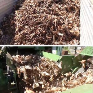Biomassza gyártás - Pezzolato fa aprítékoló gép