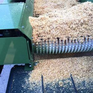 Mulcs gyártás - Pezzolato fa aprítékoló gép